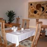 Touraco Gästehaus - Frühstücksraum