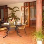 Touraco Gästehaus - Veranda