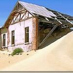 Touraco Travel Services - Kolmanskop Geisterstadt bei Lüderitz - Der Süden Namibias