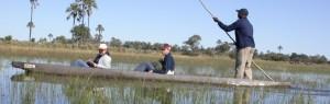 Touraco Travel Services - Okavango Delta Makoro Bootfahrt